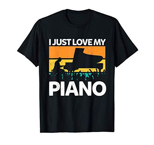 Piano Instrument Klavier Pianist Geschenk T-Shirt
