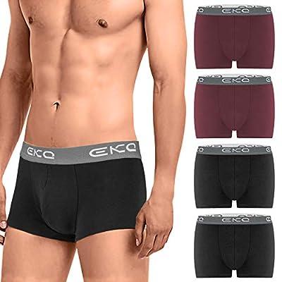 EKQ Men's Boxers Trunks Underwear Multipack...