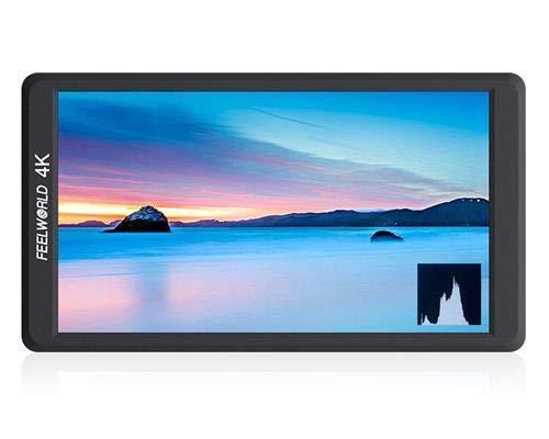 Feelworld F570fotocamera monitor 5,7' 4K HDMI Ultra HD 1920X 1080,Campo video LCD IPS schermo 1400:1,contrasto elevato per video costante, DSLR Rig, kit Videocamera, stabilizzatore a Mano