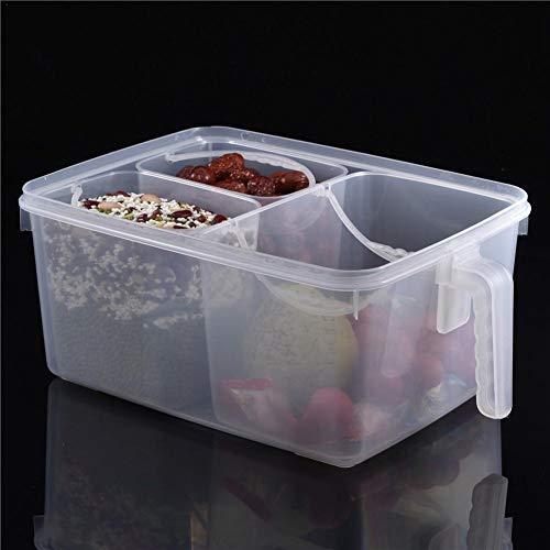 sanguiner Aufbewahrungsbox für Lebensmittel mit Griff und Deckel Kühlschrank Obstfach