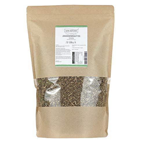 Vita Natura Johanniskraut Tee, loser Arzneitee, Bio, 1er Pack (1 x 250 g)