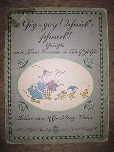 Gig-gag, Schnick-schnack! Gedichte von ..., Bilder v. E. Wenz-Vie?¨tor.