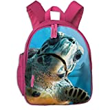 ADGBag Sac à Dos pour Enfants Cute Animal Cartoon Magazine Sea Turtles Pocket Backpacks Backpack Schoolbag for Childrens Kids Children Boys Girls