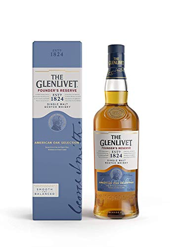 The Glenlivet Founder's Reserve Whisky Escocés de Malta Premium - 700 ml