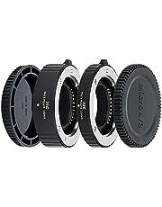 JJC 10mm/16mm Sets Metal Tubo de Extensión TTL Enfoque Automático AF para Lentes Olympus Panasonic M4/3 (MFT) y Cámaras