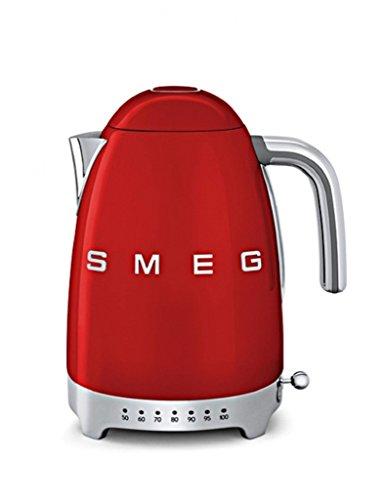 SMEG KLF04RDEU Wasserkocher, 2400, 12 liters, rot