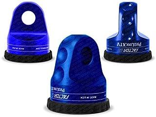 Factor55 ProLink XTV (ATV/UTV) Loaded Shackle Mount With Titanium Pin & Rubber Guard (6,000 Lbs) - Blue