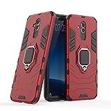 Compatible con Huawei Mate20 Lite Funda, Anillo Metálico Sujeción Soporte Antichoque Caja...