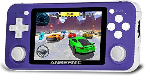 RG351P Consolas de Juegos Portátil , Consola de Juegos Retro Game Console 3.5...