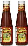 Jufran Banana Sauce - Hot 12oz, 2 Pack
