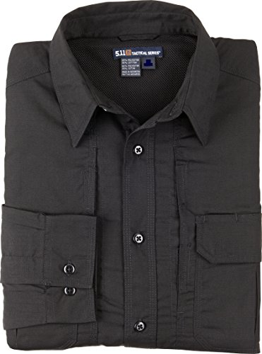 5.11 Tactical Series Women's Taclite Pro Shirt Long Sleeve Femme, Black, FR : L (Taille Fabricant : L)