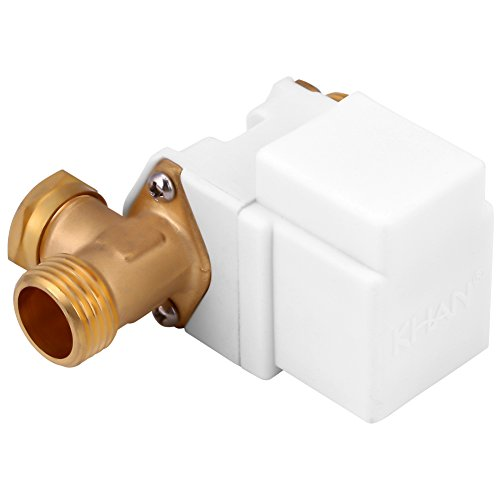 Válvula solenoide eléctrica Samfox DC 12V 1/2 válvula solenoide eléctrica Interruptor de...