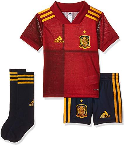 adidas Selección Española Temporada 2020/21 Miniconjunto Primera equipación, Unisex, Victory Red,...