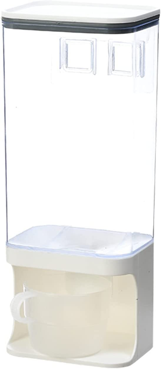 HelloCreate 4 years warranty Sealed Grain Container Multi- function With Miami Mall Dry Lid