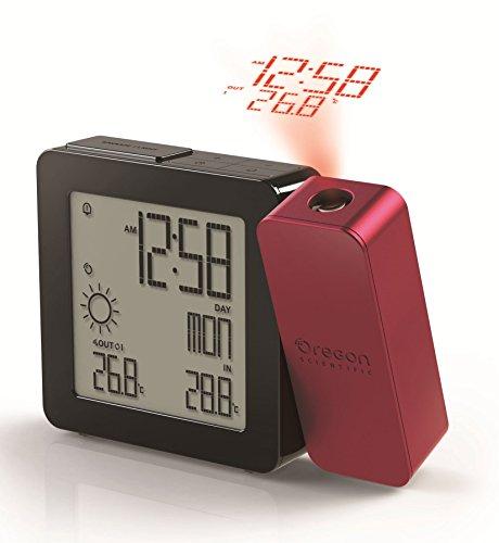 Oregon Scientific BAR368P - Reloj despertador con proyecció
