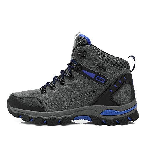 Women's Air Running Shoes,Correr por senderos,Calzado de montañismo Calzado Casual de Senderismo Antideslizante Calzado Deportivo al Aire Libre-Gris Oscuro_43#