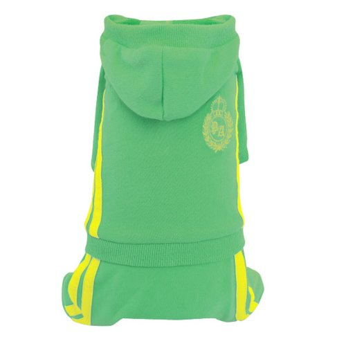 Puppy Angel all-in-one trainingspak, 45,7 cm, groen