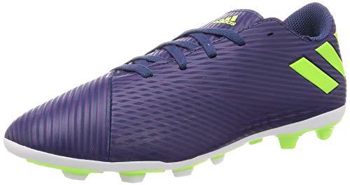 adidas Unisex Kinder Nemeziz Messi 19.4 Fxg J Fußballschuhe, Lila (Tech Indigo/Signal Green/Glory Purple), 31 EU