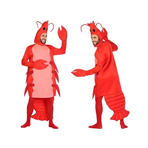 Atosa-54248 Disfraz Gamba, Color Rojo, M-L (54248)
