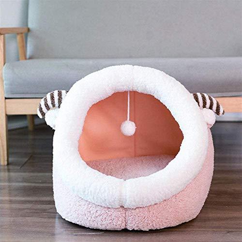 EREW Cama para mascotas, ropa de cama para gatos, cómoda y cálida cama para gatos, alfombrilla para mascotas y sofá para mascotas en invierno