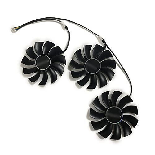 3 unids/Set GTX1080TI GPU VGA Cooler Gráficos alternativos Fan para EVGA para GeForce GTX 1080 TI FTW3 DT/Elite/GAIGING Card DE Video