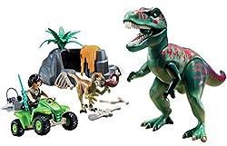 4. PLAYMOBIL Explorer Quad with T-Rex