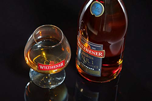 Wilthener NR. 1 , Brandy in X.O.-Qualität, Spirituose 38% vol., Branntwein der Spitzenklasse (1 x 0.7 l) - 4