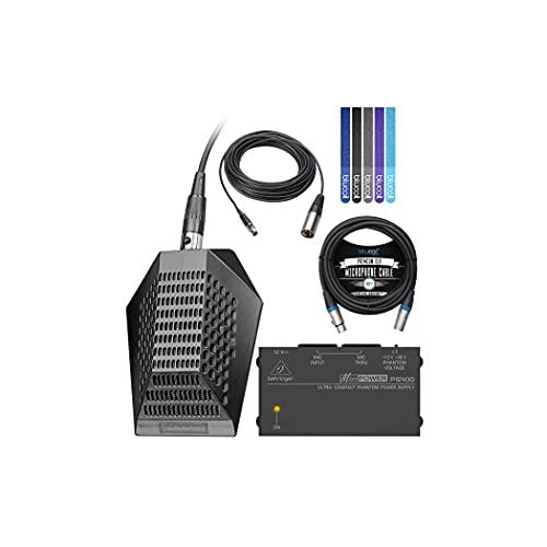 Audio-Technica Pro 44microfono cardioide a condensatore Boundary–includes- Blucoil...