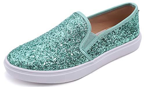 Feversole Women's Fashion Slip-On Sneaker Casual Flat Loafers,Sneakers Slip-on Alla Moda per Mocassini Piatti Casual da Donna