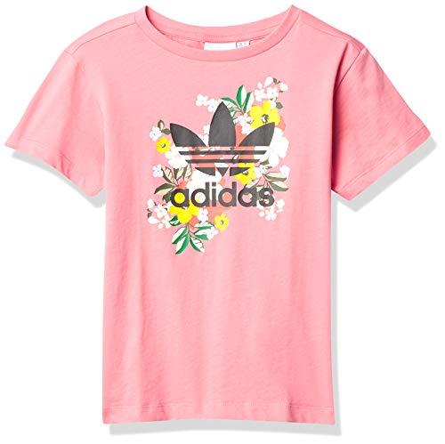 adidas Originals Camiseta unisex para jóvenes - rosa - Small