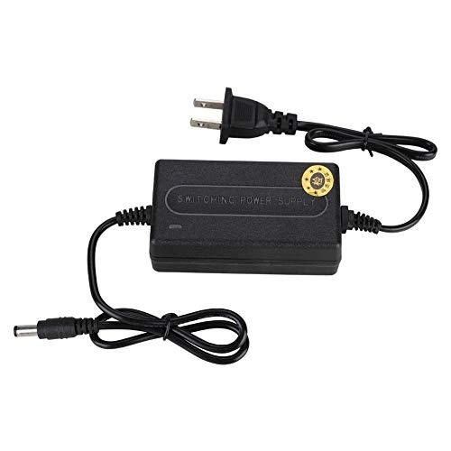 Power kabel, 12V 2A twee-draads voeding voor beveiligingsbewakingscamera-systeem, breed ingangsspanningsbereik