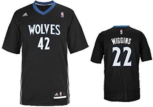 adidas INT Replica JRSY Camiseta de Manga Corta, Hombre, Multicolor (NBA Minnesota Timberwolves 6 3Hm), XS