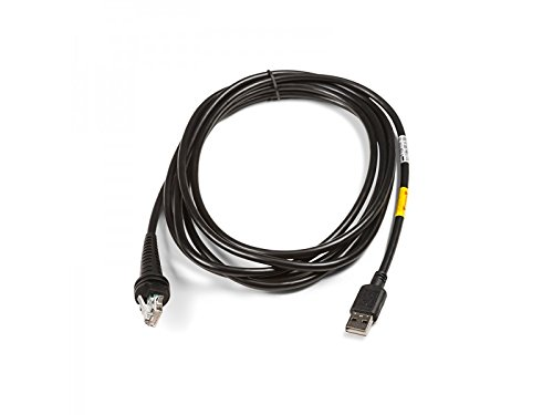 Honeywell CBL-500-300-S00 USB Straight Cable, Type A, 5V Host Power, 3 m/9.8-ft. Length, Black
