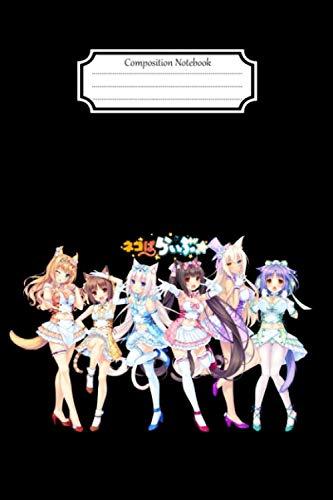 Composition Notebook:nekopara chibi girl senpai #12 Anime Manga Journal/Notebook Blank Lined Ruled 6x9 120 Pages