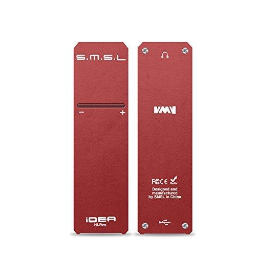 SMSL Idea sabre9018q2C dsd512Mini dsd DAC Headphone Amplifier Red