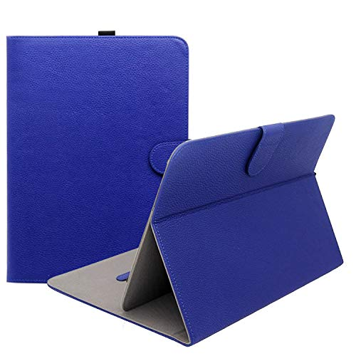 ProCase Funda Universal para Tableta 9-10 Pulgadas, Carcasa Protectora con Soporte para Tablata Pantalla de 9' 10.1', Dragon Touch/NeuTab/iRulu/Alldaymall/Hacer/Toshiba/RCA/iView/DELL/HP -Marino