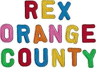 MR3Graphics Magnet Rex Orange County Logo Magnetic Car Sticker Decal Bumper Magnet Vinyl 5