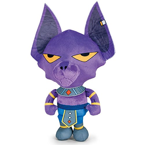 Play by Play OUSDY – Peluche personaggi Dragon Ball Super 760016801 28 cm 4 modelli (Beerus)