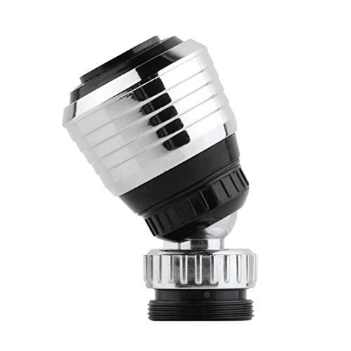 Dynamovolition ABS-Kunststoff-Hahn-Splash Wassersparende Drehbare Düse Dusche Ventil Badewanne Wasserfilter-Geräte Zwei-outlet-Modi