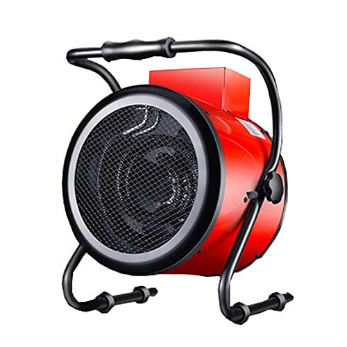Calefactor Calentadores Eléctricos 5kw/9kw Del Ventilador Del Calentador Industrial Con Ajustable Invernadero Termostato For Garaje Taller Shed Flota Ahorro De Energía Calefacción Eléctrica Domésti