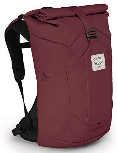 Osprey Archeon 25 Women's Roll Top Backpack, Mud Red, O/S