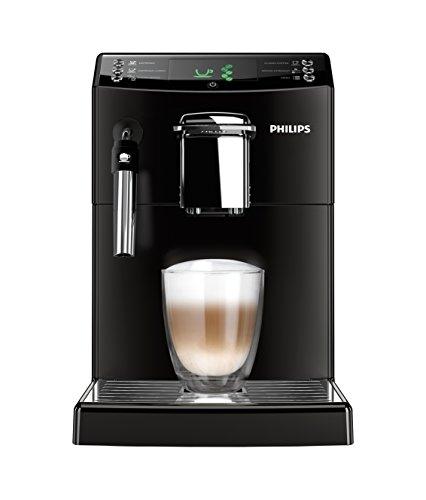 Philips HD8841/01 4000 Serie Kaffeevollautomat, klassischer Milchaufschäumer, schwarz