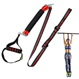 antWalking Pull Up Assist Band System, Chin up Resistance Bands with Fitness Resistance, Elastic Stretch Assistance to Improve Arm, Shoulders and Chest Strength for Men & Women Full Body Workout