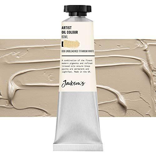 Jackson's : Artist Oil Paint : 60ml : Unbleached Titanium White