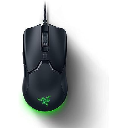 Razer Viper Mini Gaming Mouse, Gioco Design Ambidestro, Solo 61 G, Sensore Ottico da 8500 DPI, Cavo Razer SpeedFlex e Illuminazione RGB Chroma, Nero