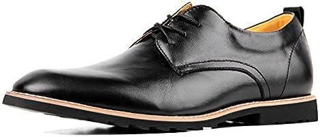 iloveSIA Men's Oxford Fashion Leather Shoes Black US Size