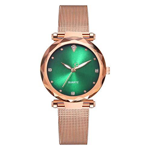 Förderung Mode Damen Uhr Minimalism Analog Armbanduhren Ultradünne Uhren mit Edelstahl Bändern Outdoor Quarz Uhren für Frauen Geschenk 2019 LEEDY