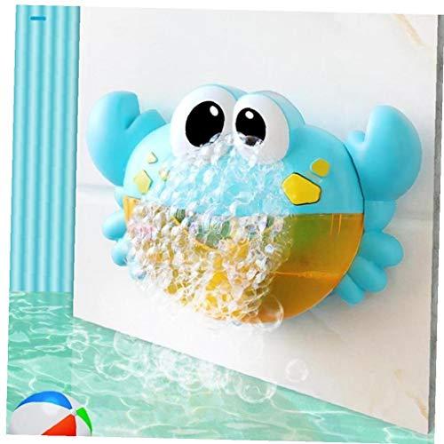 Angoter Kunststoff-Cartoon Crab Bubble Machine Kinder Dusche Bubble Maker Badewanne Dusche Spielzeug Badezimmer Dusche Seifenblase Herstellung