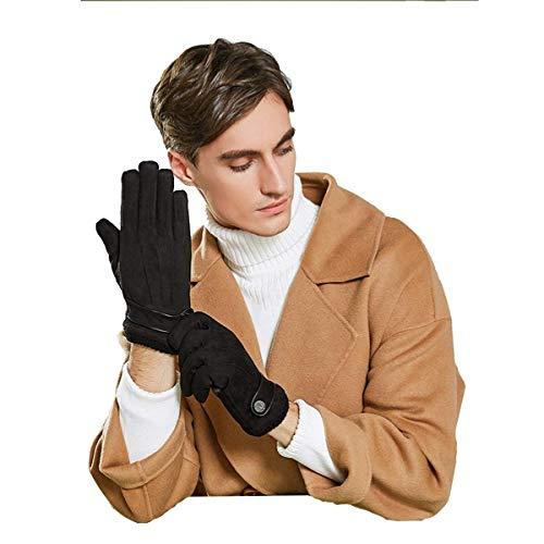 ZN-Home-Gloves l'hiver Garder au Chaud des Gants, Écran Tactile Froid La météo Conduite Gant Coupe-Vent Antidérapant Les Sports en Plein air Garder au Chaud Gant Le Ski Randonnée Alpinisme,