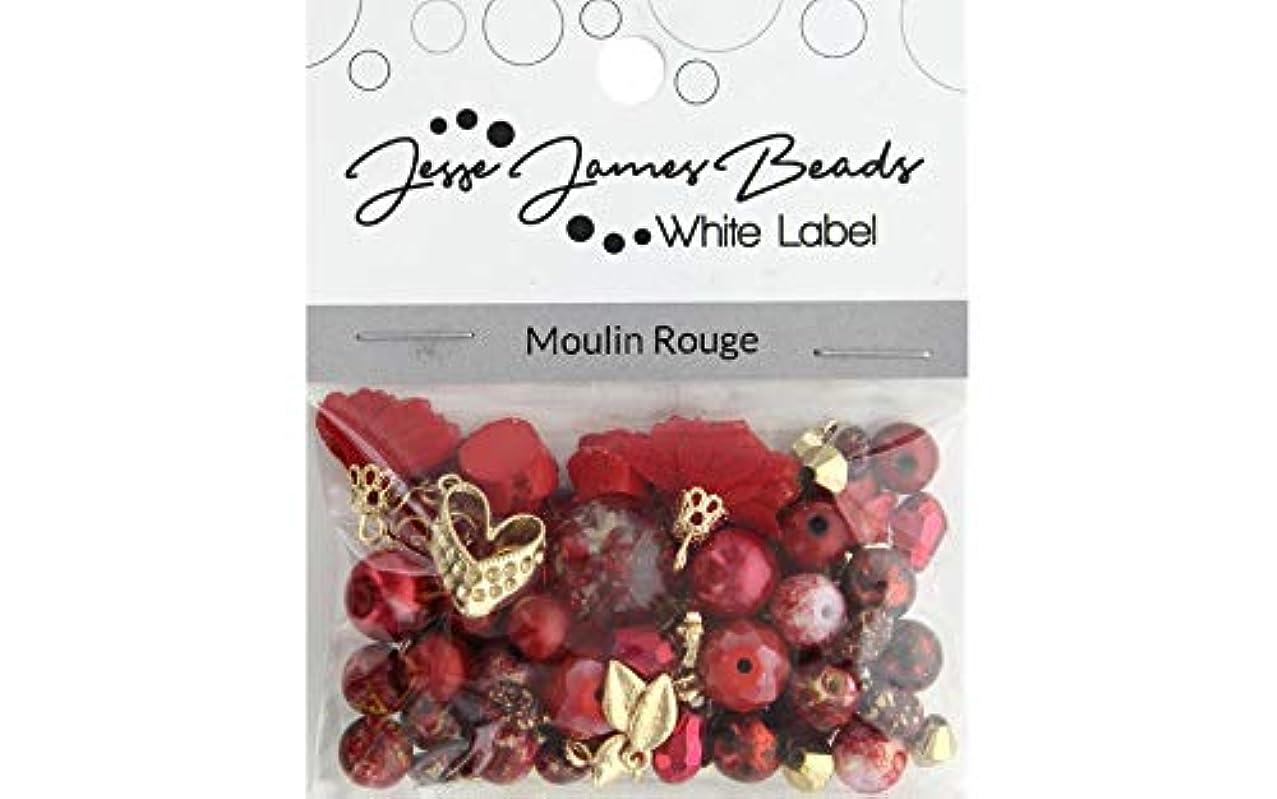 Jesse James Buttons 10363 WL Dsgn Elmnt Moulin Rouge, None
